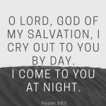 Psalm 88:1