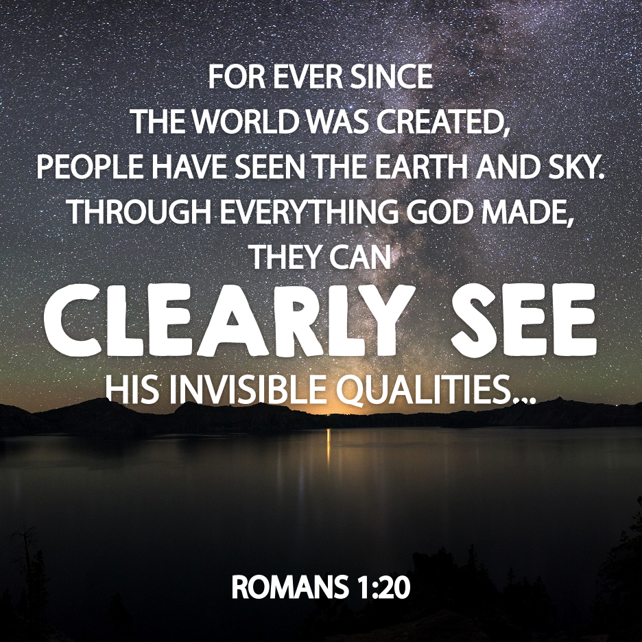 Image - Proof of God in Nature - Romans 1:20