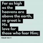 Psalm 103:11